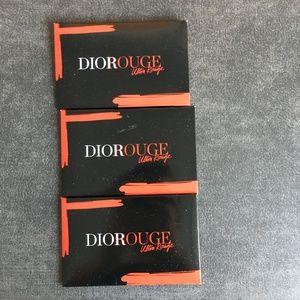 💕[NEW] Dior Rouge Lipstick Sampler [Set of 3]